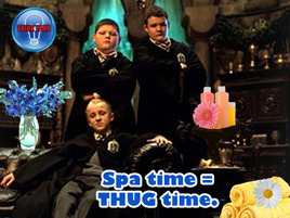 The Think Tank: Can A Malfoy Get A Manicure Up In This Joint?!