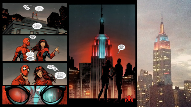 SPIDER-MAN WEEK: Empire State Building Lighting