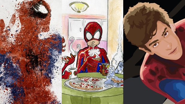 SLIDESHOW: Amazing Spiderman Fan Art