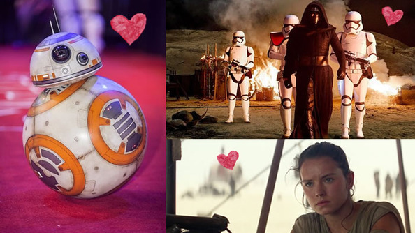 Definitive Swooniness Ranking of the New Star Wars Characters
