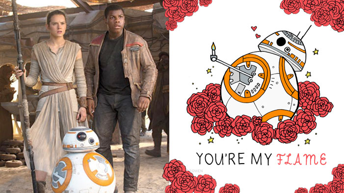 Sparklife These Are The Star Wars Valentines You Re Looking For