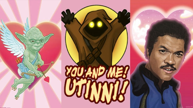 Epic Star Wars Valentine's Slidshow