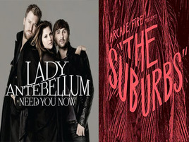 Video War: Arcade Fire Vs. Lady Antebellum