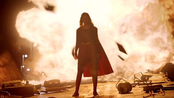 Break Out Your Fireproof Capes: The New <i>Supergirl</i> Trailer Is Here!