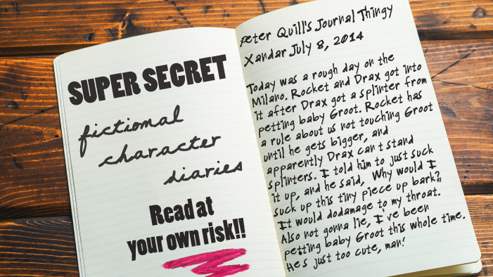 The Super-Secret Diaries of Fictional Characters