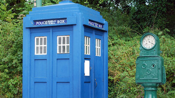 They Made a TARDIS Out of What?!