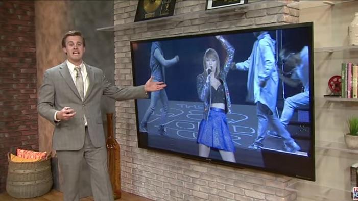 Weatherman Gives Entire Forecast Using Taylor Swift Lyrics