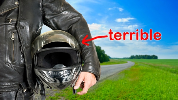 Let Me Give You Bad Advice: Wear Less Helmets!