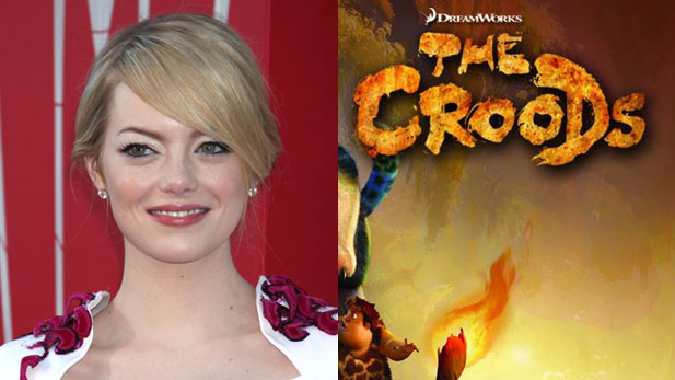 Emma Stone Gets Primitive In The Croods!