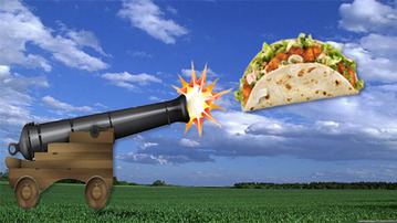 Behold the Taco Cannon: Weapon of Mass Deliciousness