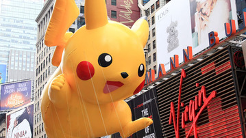 The Cheesiest Geektastic Macy's Parade Balloons and Floats of All Time