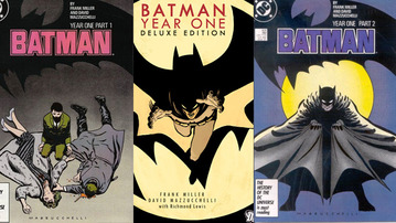 Graphic Detail: Batman: Year One Deluxe Edition Hardcover