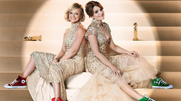 All the Times that Tina Fey & Amy Poehler Made Us Laugh, Cringe, & Do Victorious Hip Thrusts During the 2015 Golden Globes