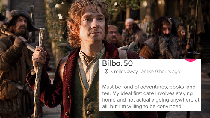 If the Characters from <i>The Hobbit</i> Had Tinder