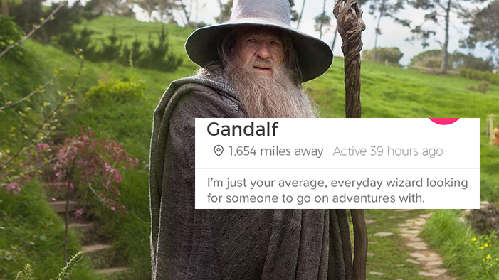 If <i>Lord of the Rings</i> Characters Had Tinder