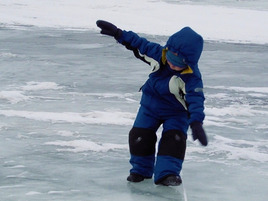 How to Save Face When You Slip on the Ice