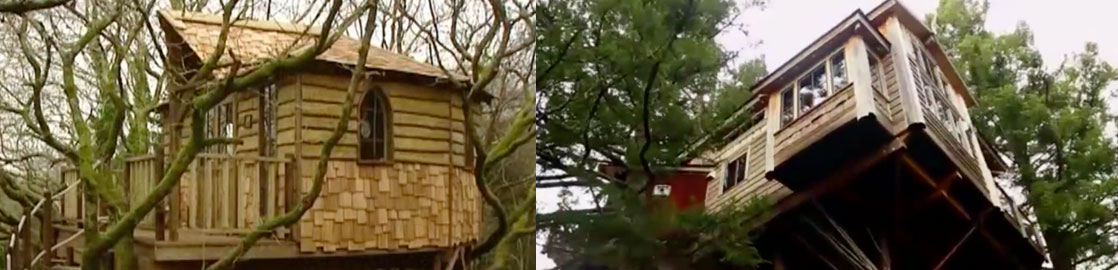 The Most Awesome Treehouses in the World!