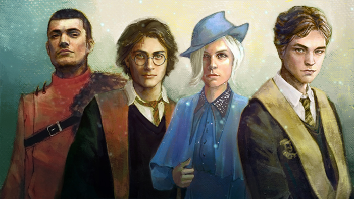4 Magical Portraits of the Triwizard Champions