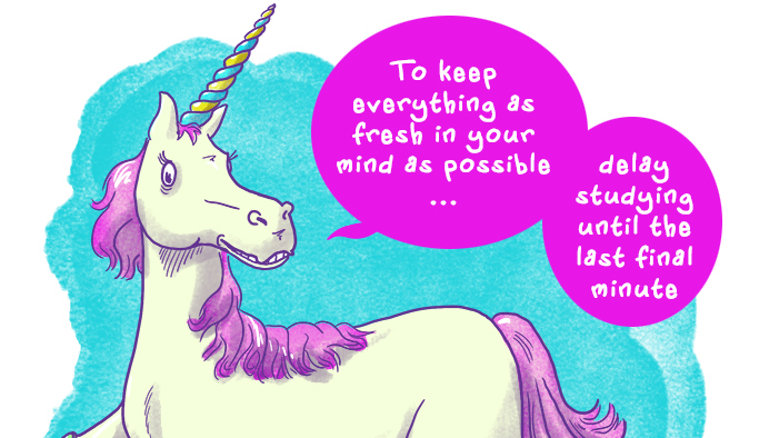 These Unicorns Are Going to Help You Ace Your Midterms (Maybeeeeee)