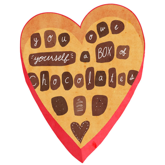 send yourself a valentine this year