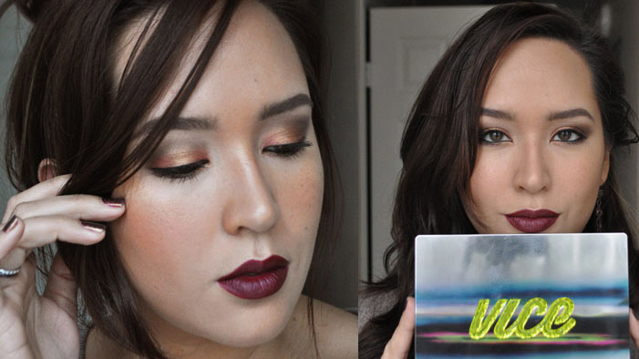 Get Copper Smoky Eyes with the Urban Decay Vice3 Palette!