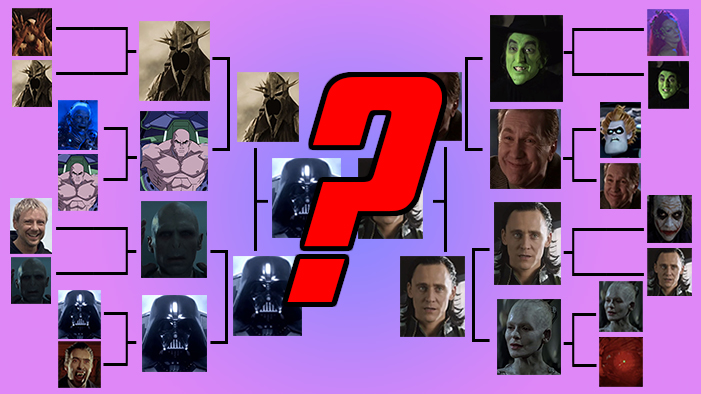 Who Will Win the Ultimate Sci Fi and Fantasy Villain Bracket?!