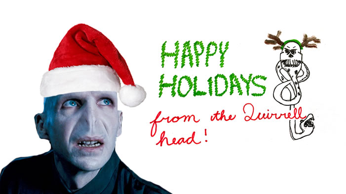 Happy Holidays from Lord Voldemort!