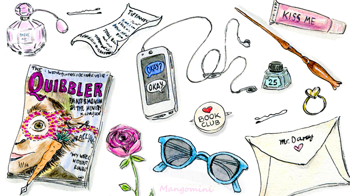 What Our Fave Fictional Characters Keep in Their Bags