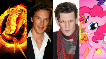 The Hunger Games vs. Sherlock vs. Doctor Who vs. My Little Pony