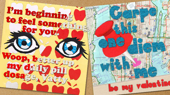 YA Valentines for Our Favorite Paper People!