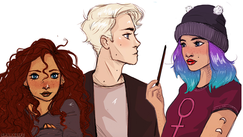 These Harry Potter Character Illos Are SO GOOD WE CAN'T STAND IT