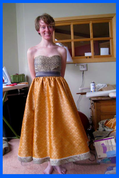 SparkLife » Making My Prom Dress: Almost Finished!