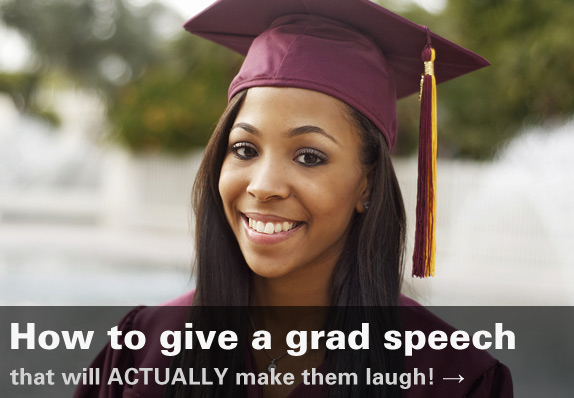 how to give a grad speech
