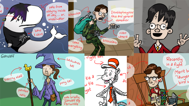 Your Favorite Literary Characters Going Through Puberty