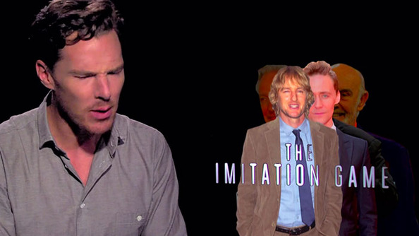 Watch Benedict Cumberbatch Cook Up a Batch of Impersonations, Including Alan Rickman, Taylor Swift, and Tom Hiddleston (SWOON!)
