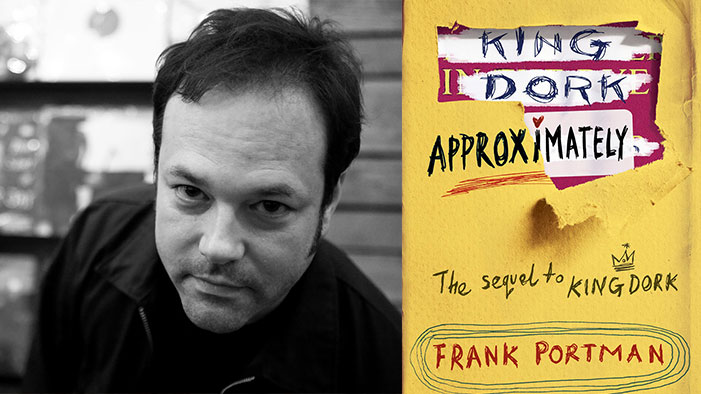 The <i>KING DORK</i> Sequel Is Almost Here... See Why We LURVE Author Frank Portman in This Exclusive Interview!