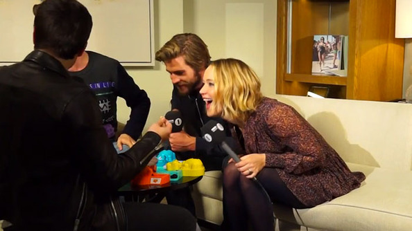 FINALLY! JLaw Gives the World Her Best Liam Hemsworth, Aussie Bogan, Impression