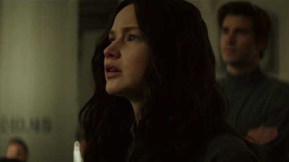 COMMENCE MOUTH BREATHING: We Have an Exclusive <i>Mockingjay</i> Clip