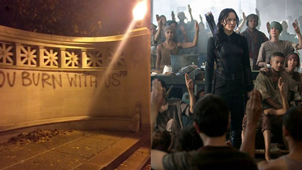 <i>Mockingjay</i> Has Inspired Some Protestors, and That's a Good Thing
