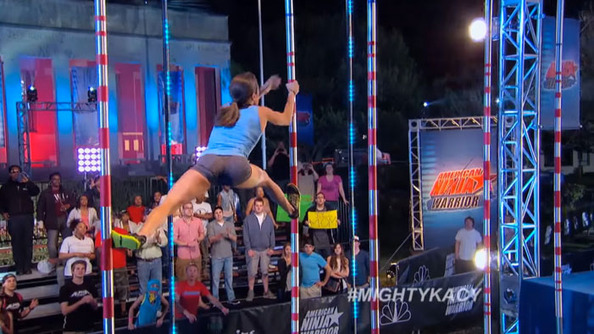 WATCH: This Woman Is a Record-Breaking Ninja Warrior!