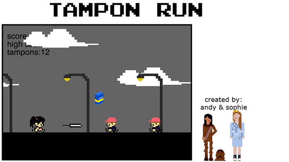 SparkLife » Tampon Run is the Game of Your Period-Infused Dreams
