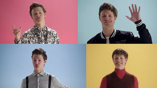 Ansel Elgort Looks Adorkable in Every Decade, Gives You a History Lesson
