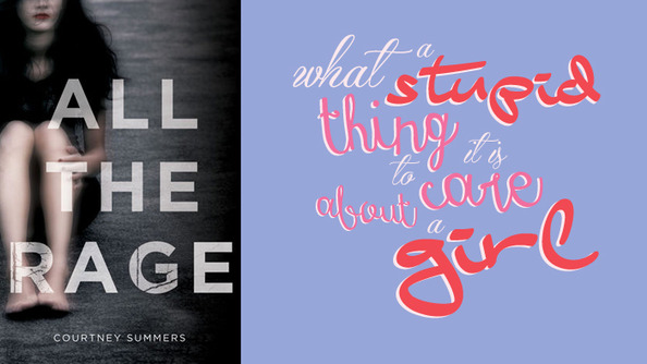 YA Author Courtney Summers Takes On Today's Growns in <i>All the Rage</i>, a Powerful Look at How We Treat Teen Girls