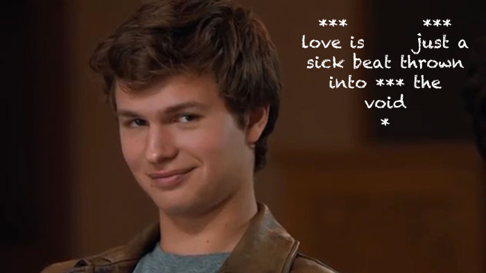 Let Ansel Elgort's First Album Be Your Always