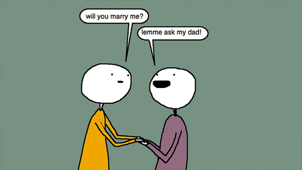 Auntie SparkNotes: Should My Boyfriend Ask My Dad's Permission Before He Proposes?