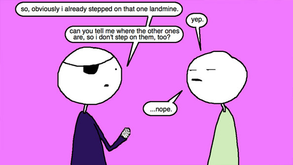 Auntie SparkNotes: How Can I Get My Girlfriend to Talk With Me About Boundaries?