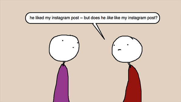 Auntie SparkNotes: He Likes My Instagram Photos, But Is He Just Being Polite?