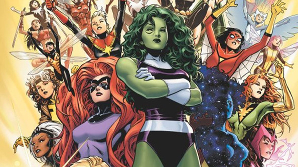 ALL THE MARVEL LADIES! Marvel Announces Female Led A-Force