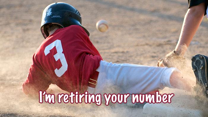 All-Time Greatest Baseball Break-Up Lines