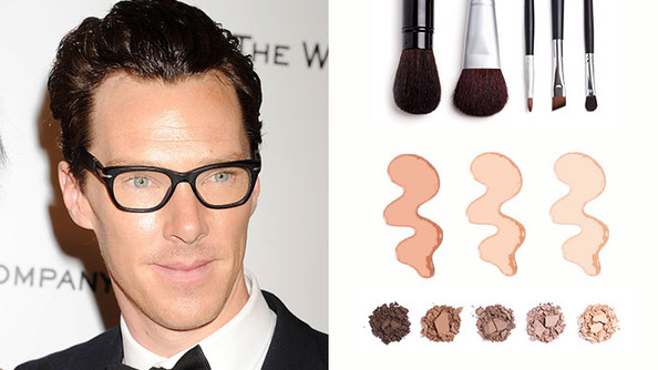 What's Benedict Cumberbatch's Beauty Secret? Surprise: It's MAKEUP